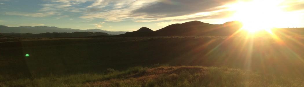Sunset on the High Plains