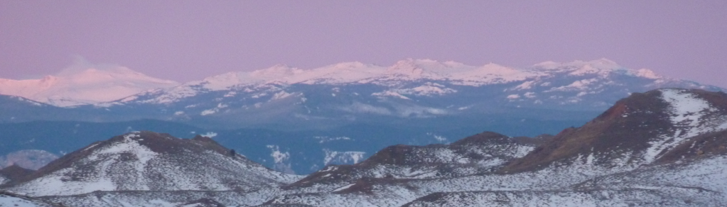 Early spring snow in the Bighorns