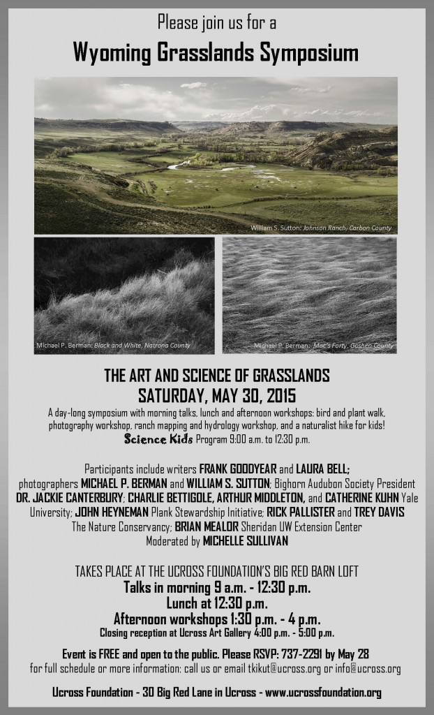 Wyoming Grasslands Symposium Flyer